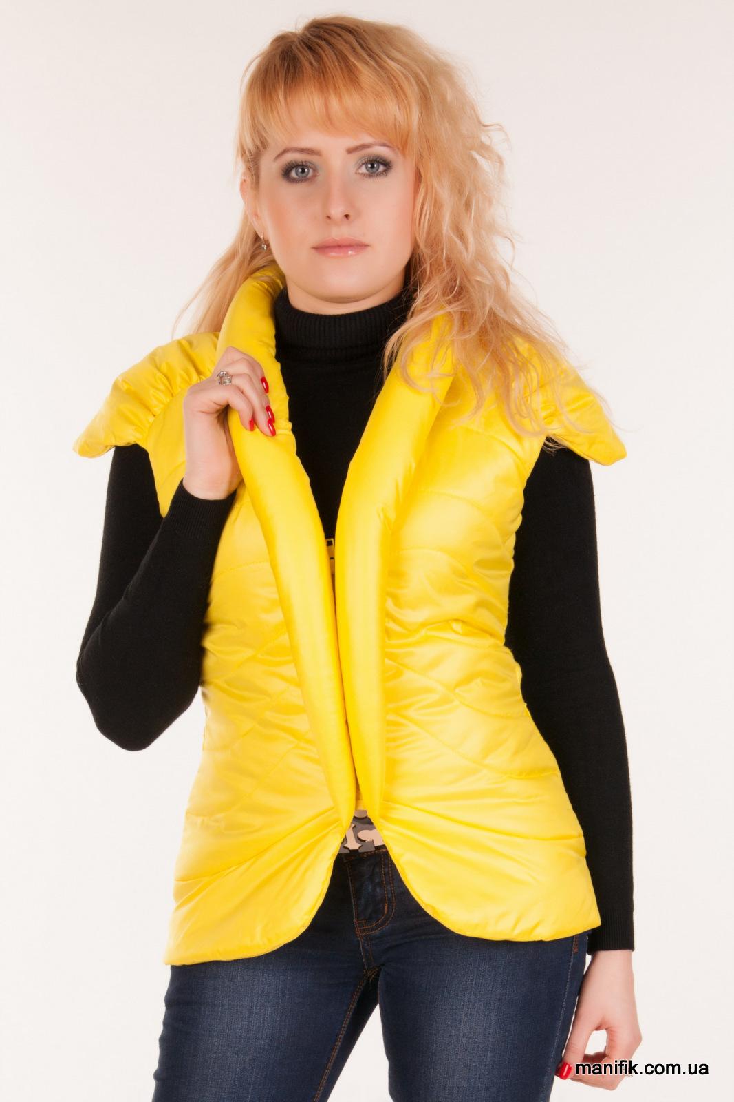 Как сделать жилет из куртки