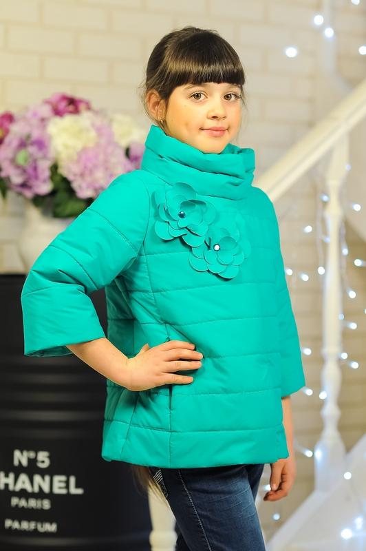 Куртка «Миледи», бирюза