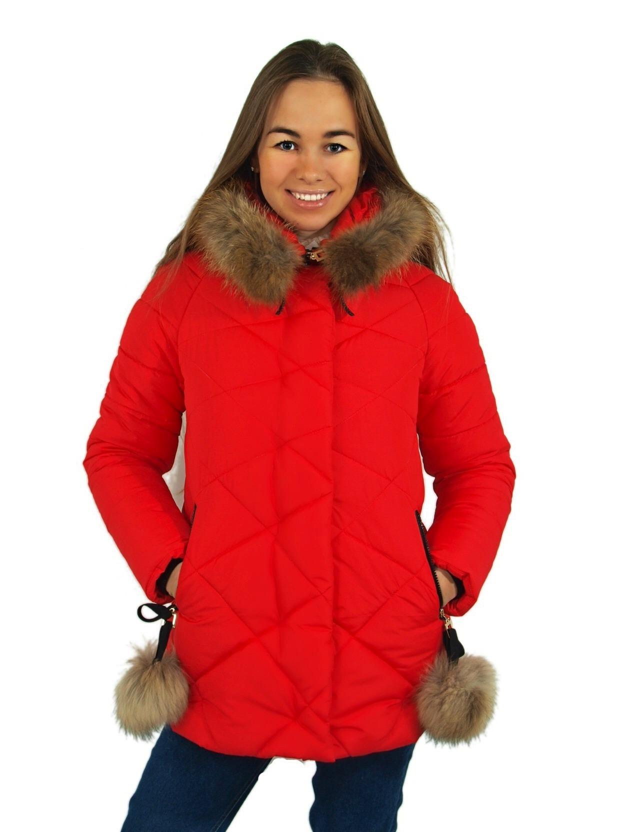Женские зимние курточки