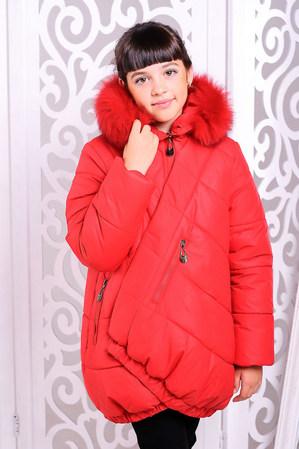 Куртка «Элис», красная