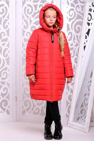 Пальто «Ангел», красное