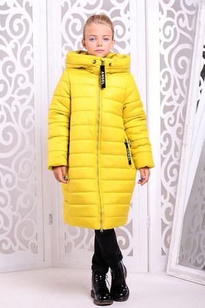 Пальто «Ангел», желтое