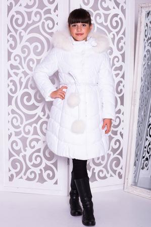 Пальто «Шейла», белое