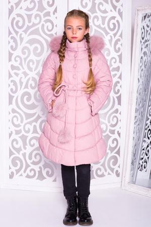 Пальто «Шейла», пудра