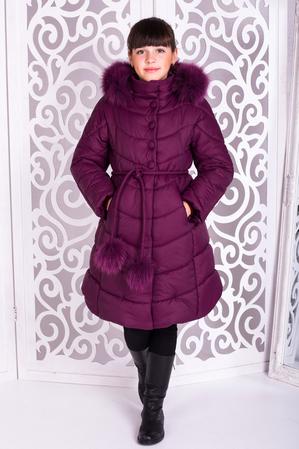 Пальто «Шейла», марсала