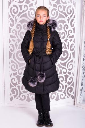 Пальто «Шейла», черное