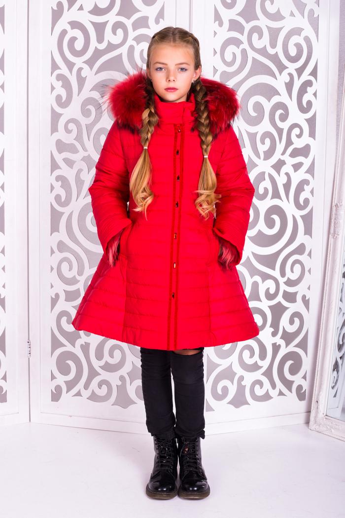 Куртка «Марианна», красная
