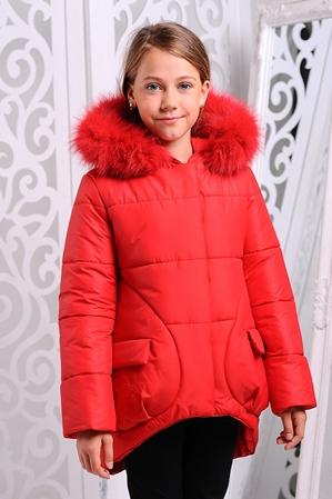 Куртка «Мая Нова», красная