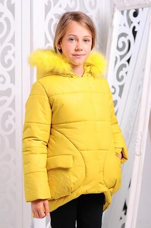Куртка «Мая Нова», желтая