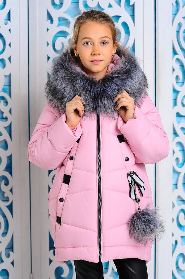 Куртка «Матильда», розовая