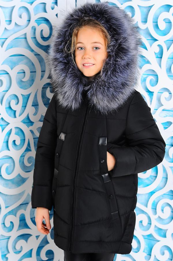Куртка «Матильда», черная