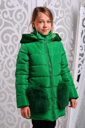Куртка «Сандра», зеленый
