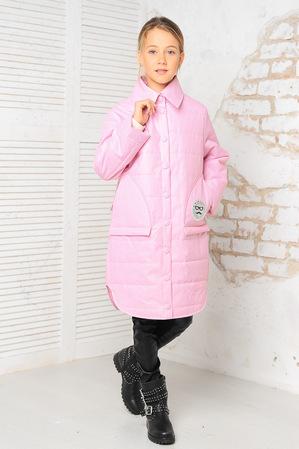 Куртка «Алиса», розовый принт