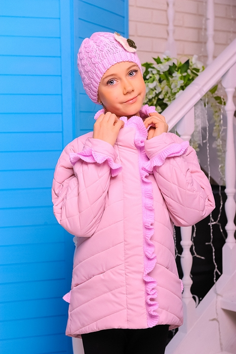 Куртка «Одри», розовый