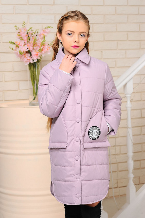Куртка «Алиса», лаванда