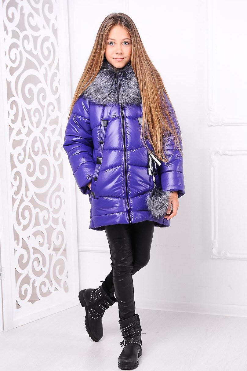 Куртка «Матильда», фиолет