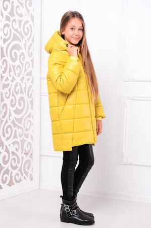 Куртка «Николь», лимон